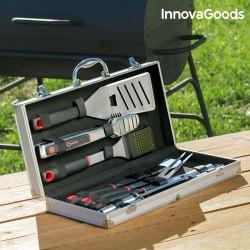 InnovaGoods professzionális grillkészlet kofferben - 11 darabos