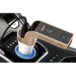 Bluetooth FM Transmitter USB és MicroSD kártya foglalattal