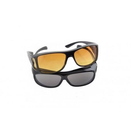Szemüvegek vezetéshez éjjelre és nappalra - HD Vision - 2 db