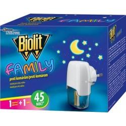 Biolit Family elektromos szúnyogriasztó - 45 éjszaka