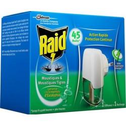 Raid szúnyogirtó készülék és utántöltő eukaliptusz olajjal - 27 ml