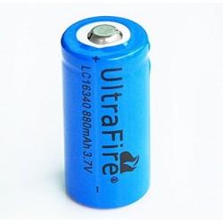 W 16340 (1200mAh, 3,7V, Li-ion) elem - 1 darab