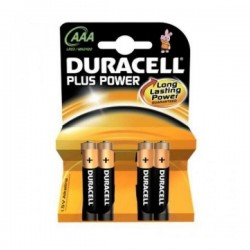 Alkáli elem DURACELL DURLR3P4B - 4x AAA