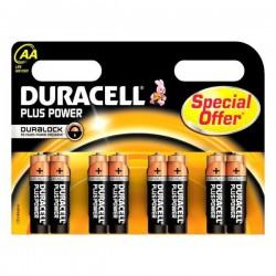 Alkáli elem Duracell Plus Power DURLR6P8B, LR6, 1.5V - 8x AA