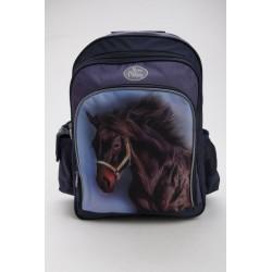 Iskolatáska - barna ló