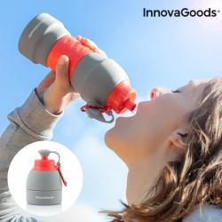 Összecsukható szilikon vizes palack - 580 ml - InnovaGoods
