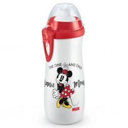 Vizes palack gyerekeknek - Disney Mickey - 450 ml - piros