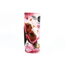 Kerek tolltartó - Nice and Pretty - ló - rózsaszín