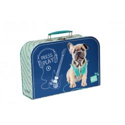 Bőrönd segédeszközökre - Kutyus - közepes