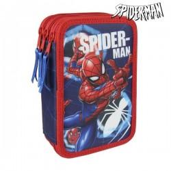 Háromszintes felszerelt tolltartó - Spiderman 3561
