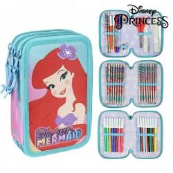Háromszintes felszerelt tolltartó - Princesses Disney 78698