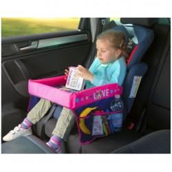 Gyermek utazó asztal autóba - Minnie Mouse