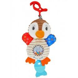 Gyerek vibráló plüss játék - pingvin - Baby Mix
