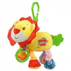 Vibráló plüss gyerekjáték - oroszlán - Nenikos
