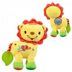 Puha játék a gyerekek számára - sárga oroszlán - Nenikos