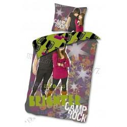 Gyerek ágyneműhuzat - Camp Rock - lila - 140x200