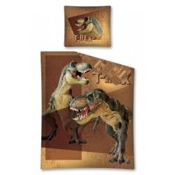 Gyerek ágyneműhuzat - Tyranosaurus Rex - 140x200