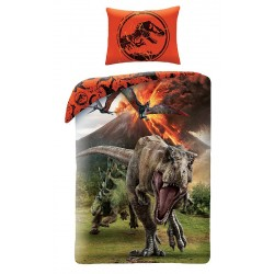 Gyerek ágyneműhuzat - Jurassic Park - robbanás - 140x200