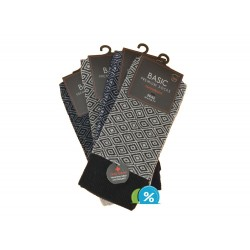 Férfi klasszikus pamut zokni Basic 97770-M - 4 pár