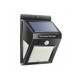 Napelemes LED lámpa mozgásérzékelővel - 48 + 6 + 6 LED