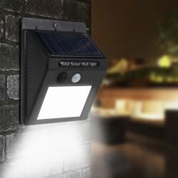 Napelemes LED lámpa mozgásérzékelővel - 20 LED