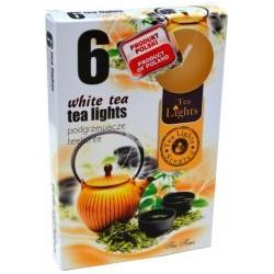 Admit teamécses - 6 db - fehér tea