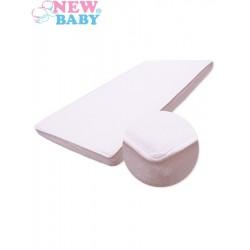 Vízálló lepedő New Baby 120x60 fehér