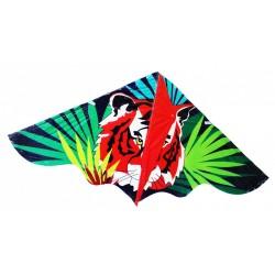Repülő sárkány - tigris - 120 x 61 cm