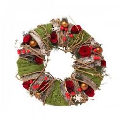 Karácsonyi koszorú - 35 cm
