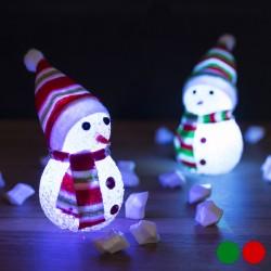Karácsonyi LED hóember