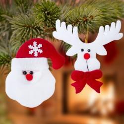 Karácsonyi dekorációs szett - 2 db
