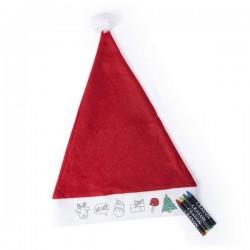 Karácsonyi sapka - képecskékkel