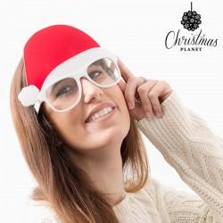 Télapó karácsonyi szemüveges sapkája
