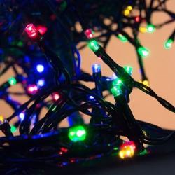 Karácsonyi megvilágítás - színes kültéri 11m - 400 LED