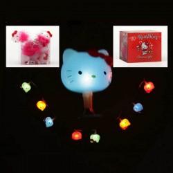 Karácsonyi megvilágítás - Hello Kitty - színes - 2m