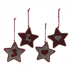 Karácsonyi dísz - csillag