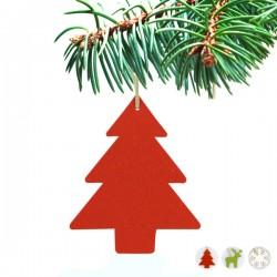 Karácsonyi dísz - kis karácsonyfa