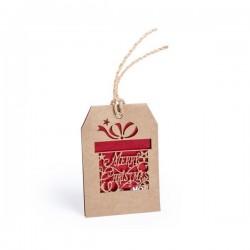Karácsonyi névtábla - ajándék