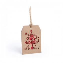 Karácsonyi névtábla - karácsonyfa