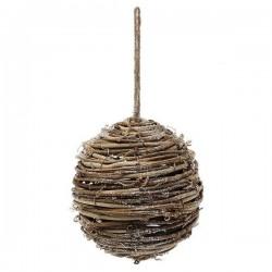 Karácsonyi fa gömb dísz - 14 cm - 1 db