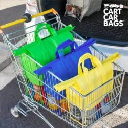 Rendszerező táskák bevásárláshoz és csomagtartóba - Cart Car Bags - 4 db