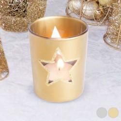 Karácsonyi gyertyatartó - csillag