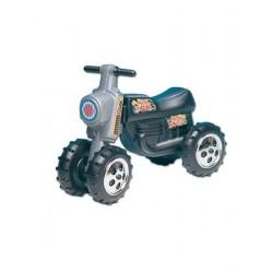 Mini Motor lábbal hajtós játék - fekete