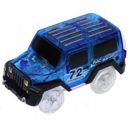 Autó világító autópályához - szélesség 6 cm - kék