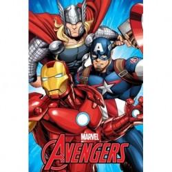 Jerry Fabrics polár takaró - The Avengers - 150 x 100 cm
