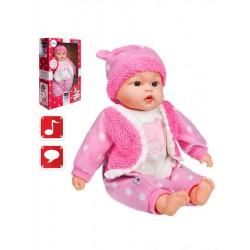 Szlovákul beszélő és éneklő játékbaba Marika - 46 cm - PlayTo