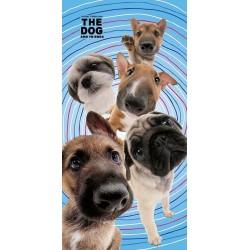 Detexpol fürdőlepedő - The Dog - Kutyabarátok - 140 x 70