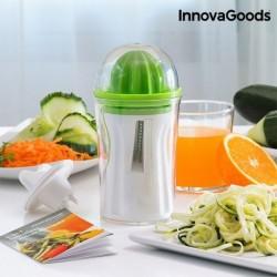 InnovaGoods 4in1 zöldségszeletelő gyümölcspréssel