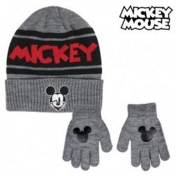 Sapka és kesztyű - Mickey Mouse - fekete