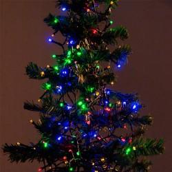 Karácsonyi megvilágítás - színes - 96 LED